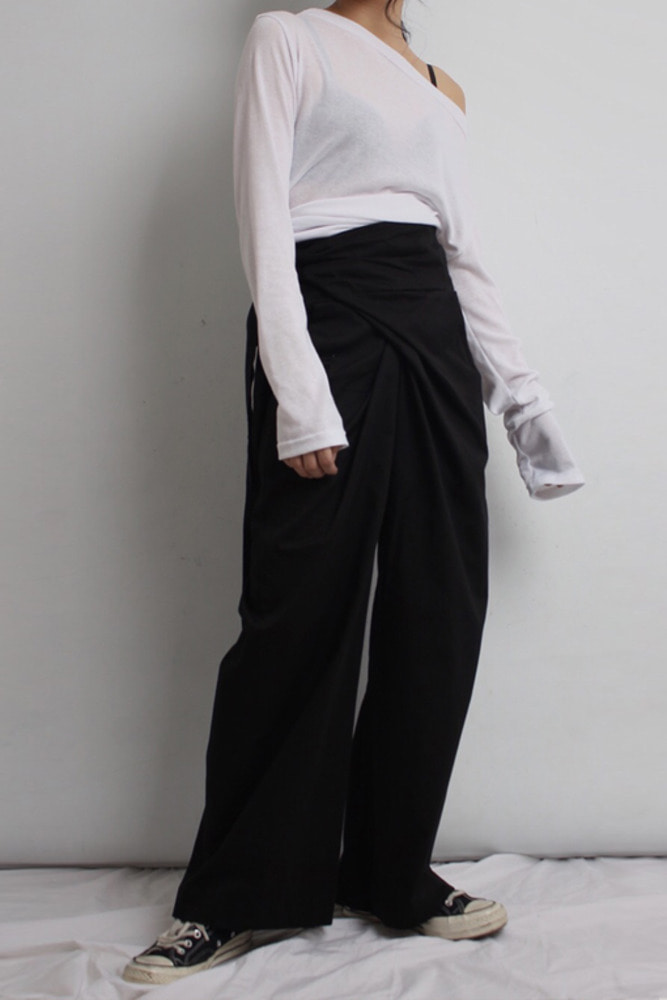 Wrap-pants (2colors)